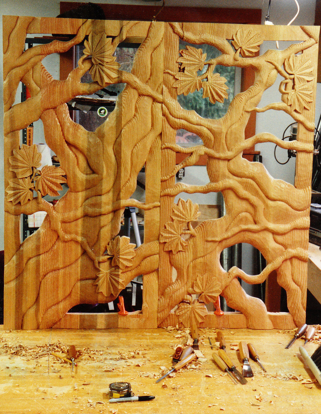 Jude Fritts Wood Carving & Sculpture - Custom Carving, Large Scale ...